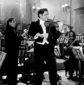 """Wilhelm Brüning als Dirigent in """"Der ewige Klang"""""""