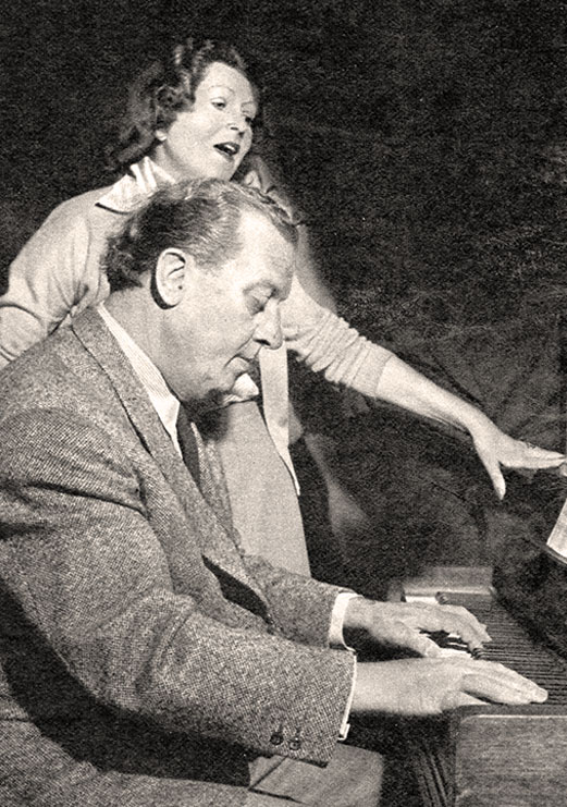 Theo Mackeben und Loni Heuser